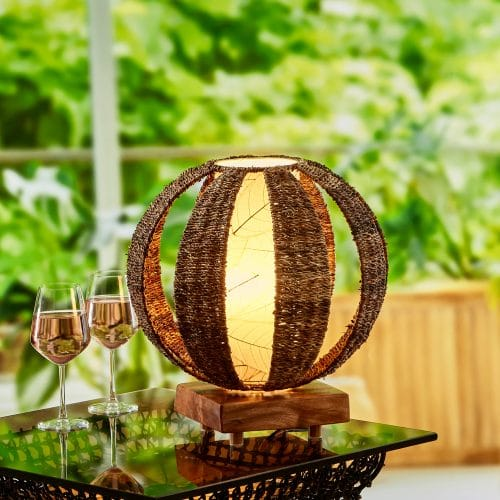 Outdoor Orb Table Lamp