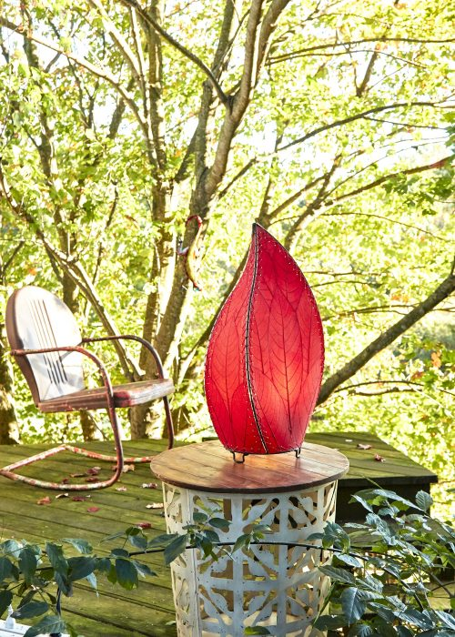 Outdoor Leaflet Table Lamp