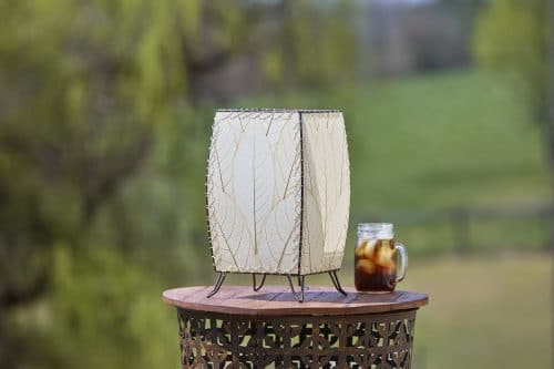 Outdoor Cube Table Lamp