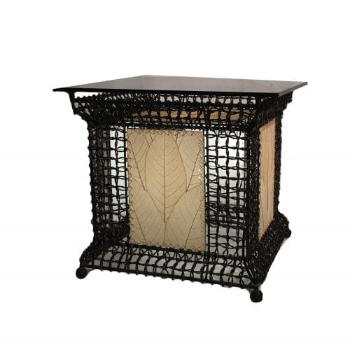 Outdoor Lighted Table